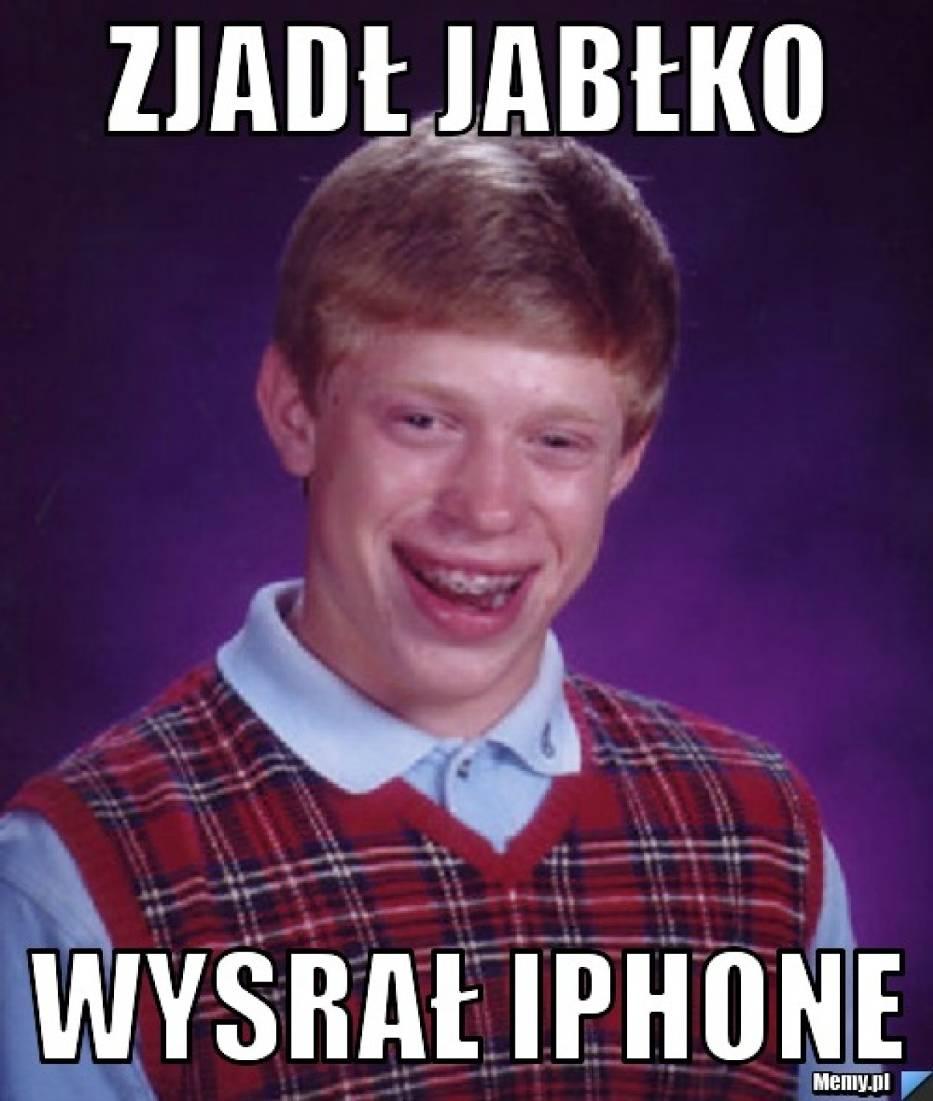 Z jabłka iPhone powstał