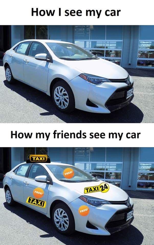 Moje auto - Twoje taxi