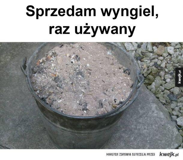 Używany Węgiel